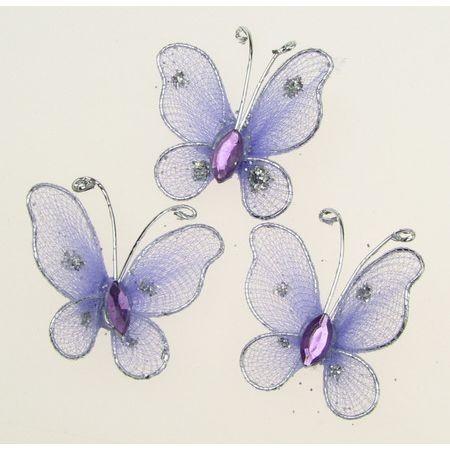 пеперуди и цветя от тел